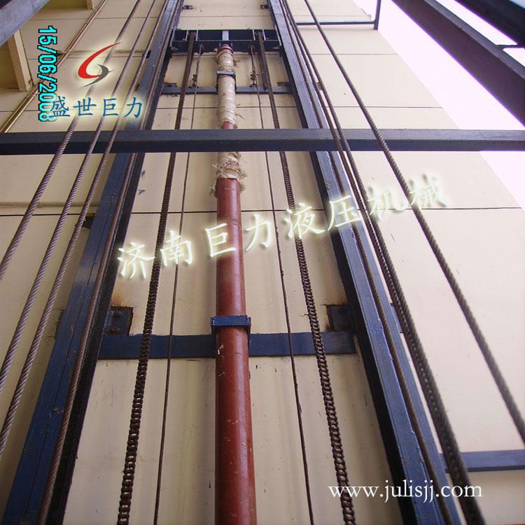 导轨式液压油缸