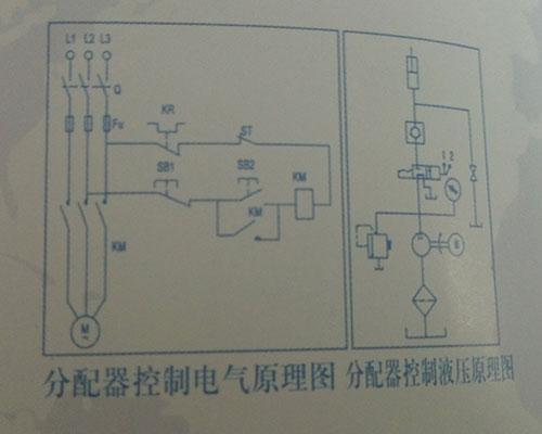 移动式升降机分配器原理图