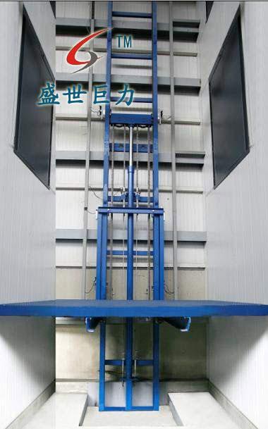 导轨式升降机