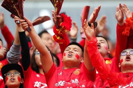 国足粉丝倍增了直面积分榜的信心
