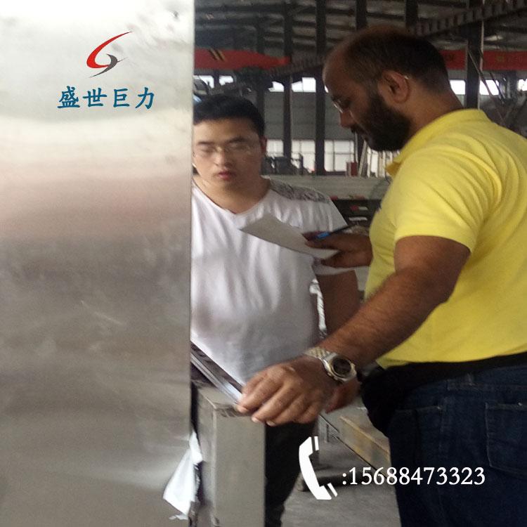 国外客户定制导轨无障碍升降机