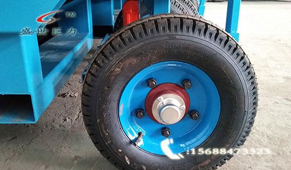 移动式电动液压升降平台轮胎