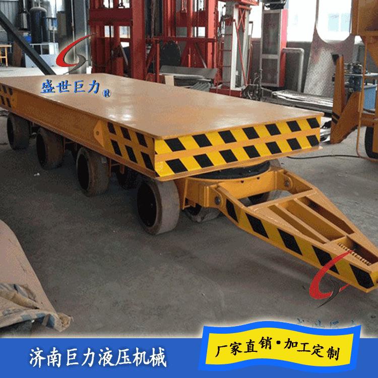 转盘平板拖车
