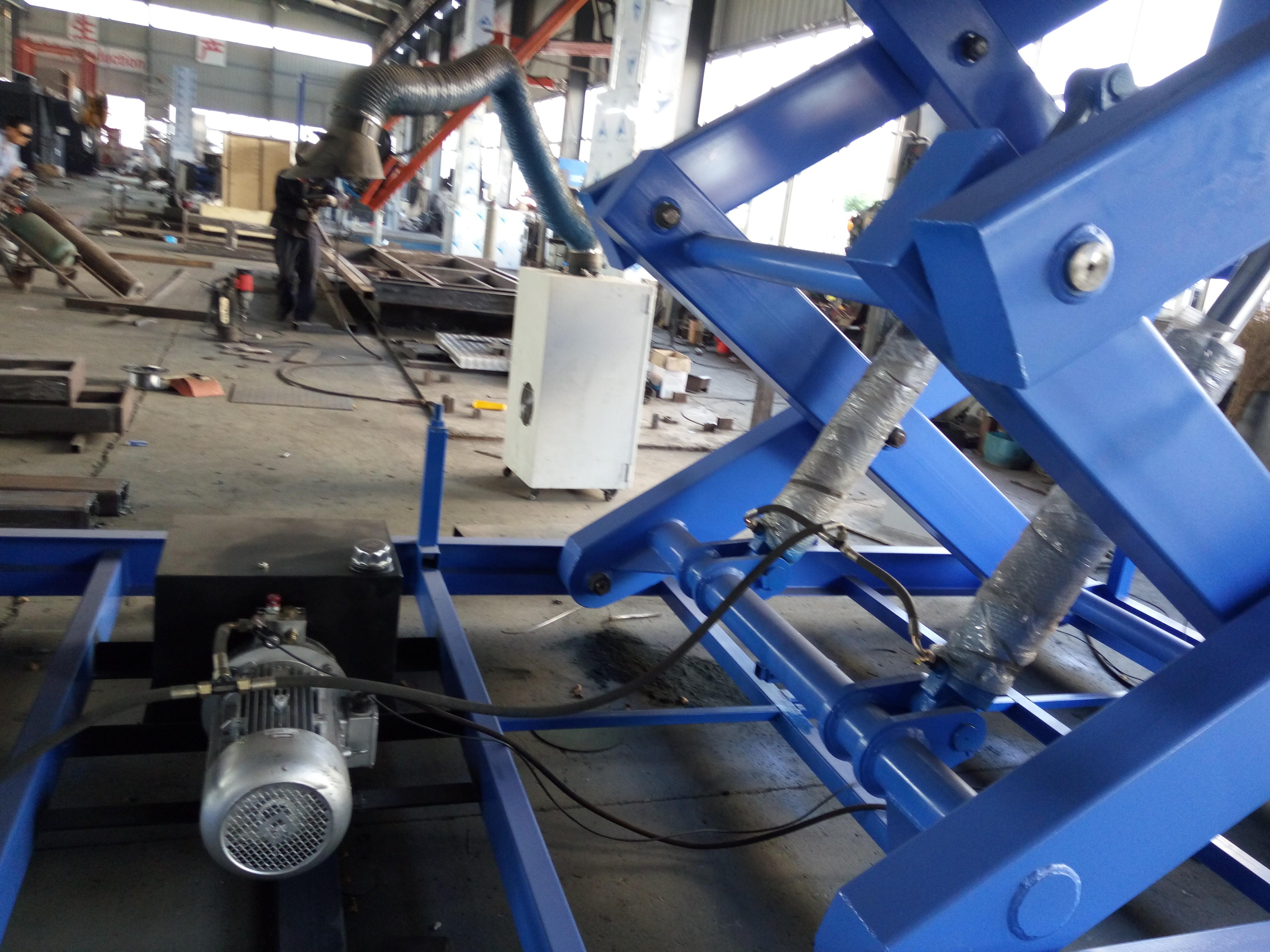 液压升降机液压系统
